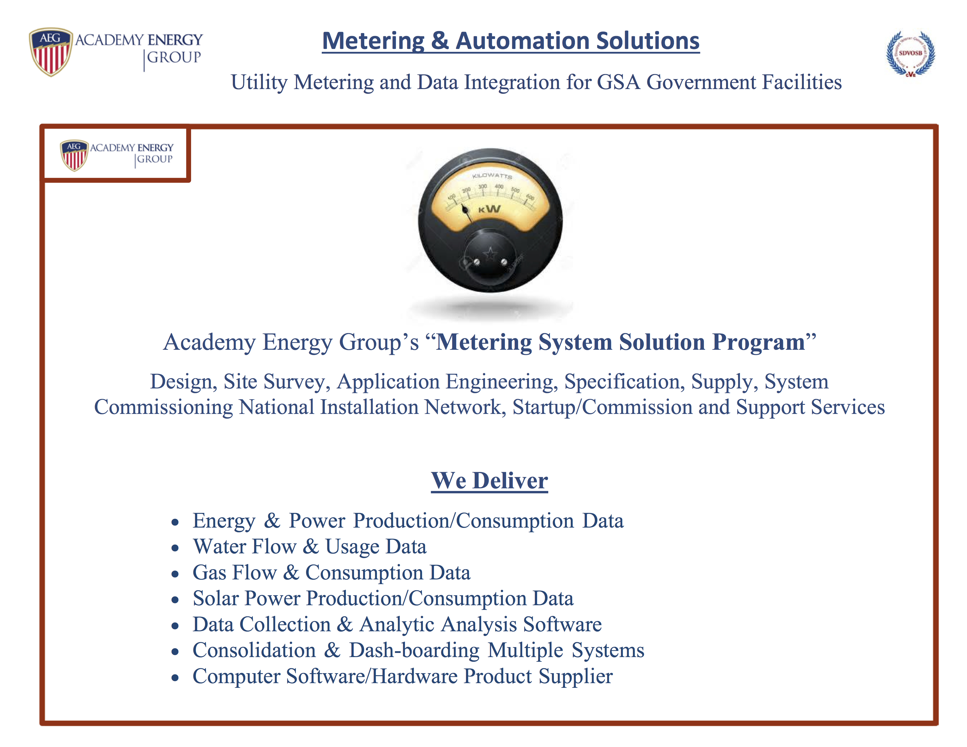 Metering Automation Solutions