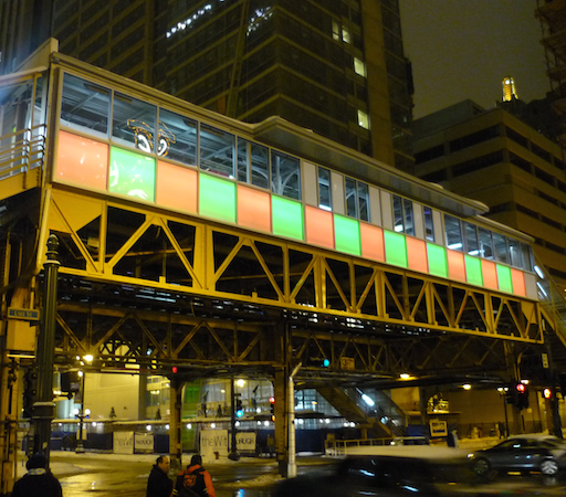 Chicago Transit Authority Color Changing LED